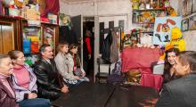 Владимир Скоробагач способствует предоставлению помещения для ассоциации многодетных матерей Харькова 30.09
