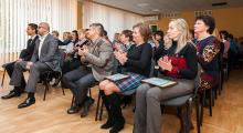 Владимир Скоробагач поздравил работников Управления образования администрации Московского района