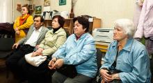 Владимир Скоробагач - встреча с людьми с ограниченными возможностями