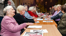 Владимир Скоробагач - встреча с ветеранами